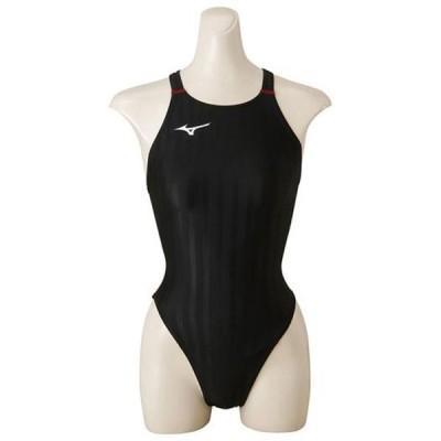 ハイカット (ジュニア)  MIZUNO ミズノ スイム 競泳水着 ストリームアクセラ (N2MA8421)