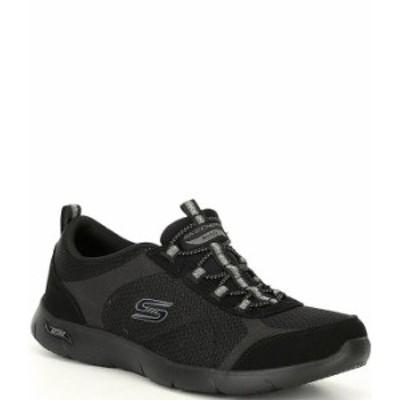スケッチャーズ レディース スニーカー シューズ Arch Fit Refine Walking Shoes Black