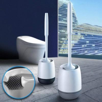トイレブラシ トイレ掃除ブラシ 収納ケース付き コンパクト掃除用品 衛生 防菌 速乾 衛生 便器傷つけず