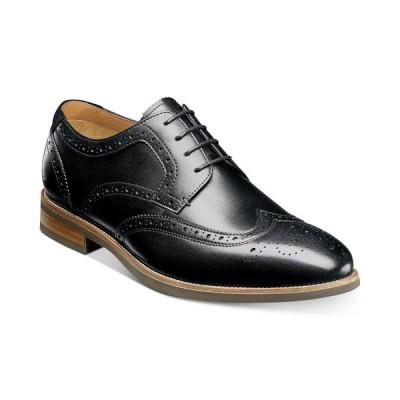 フローシャイム Florsheim メンズ 革靴・ビジネスシューズ ウイングチップ シューズ・靴 Upgrade Wingtip Oxfords Black