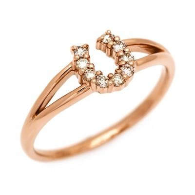 K18 ブラウンダイヤモンド リング fortuna (サイズ5号〜15号) 4月誕生石 アクセサリー 指輪