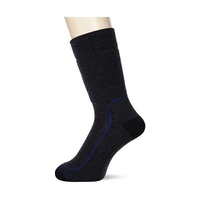 [アイスブレーカー] 登山用靴下 M HIKE+ MEDIUM CREW メンズ (ジェットヘザー L)