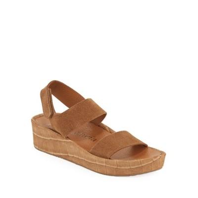 ペドロガルシア レディース サンダル シューズ Lacey Mock-Croc Suede Flatform Sandals