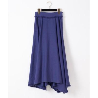 GRACE CONTINENTAL / フリンジラップ風スカート WOMEN スカート > スカート