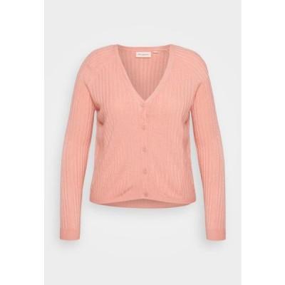 レディース ファッション CARAMALIA CARDIGAN - Cardigan - blush