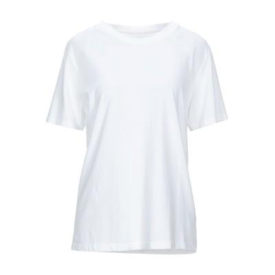 MM6 メゾン マルジェラ MM6 MAISON MARGIELA T シャツ ホワイト XS コットン 100% T シャツ