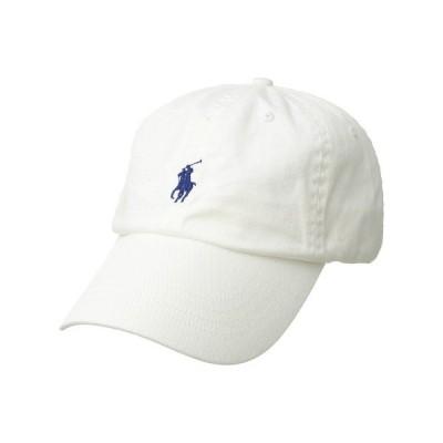 ラルフローレン 帽子 アクセサリー メンズ Classic Chino Cap White/Marlin Blue