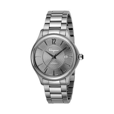 [サルヴァトーレフェラガモ] 腕時計 FERRAGAMO TIME グレー文字盤 自動巻き FFT050016 メンズ 並行輸入品 シルバー