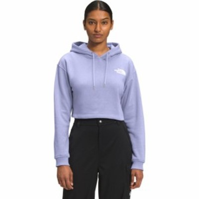 ザ ノースフェイス The North Face レディース パーカー クロップド トップス logo crop drop hoodie Sweet Lavender