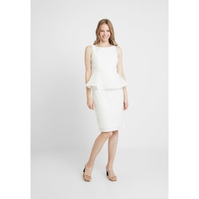 アドリアナ パペル ワンピース レディース トップス PETAL PEPLUM DRESS - Cocktail dress / Party dress - ivory