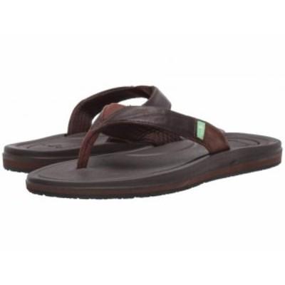 Sanuk サヌーク レディース 女性用 シューズ 靴 サンダル Yoga Mat 3 Primo Brown【送料無料】