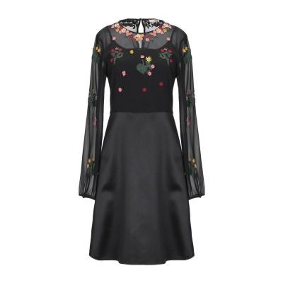 PENNYBLACK ミニワンピース&ドレス ブラック 38 ポリエステル 100% / コットン / ナイロン ミニワンピース&ドレス