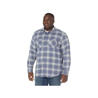 ティンバーランド Extended Woodfort Flex Flannel Work Shirt メンズ シャツ トップス Vintage Indigo Plaid