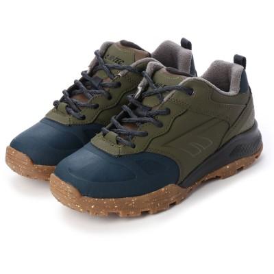 ハイテック HI-TEC 短靴 HT HKU24W AORAKI EXP LOW WPG カーキ 53841028