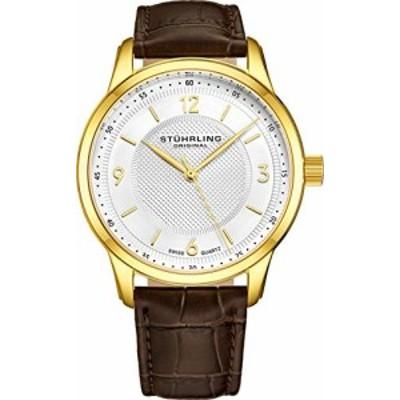 腕時計 ストゥーリングオリジナル メンズ Stuhrling Original Men's 572.03 Classique Gold-Tone S
