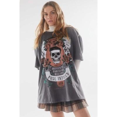 プロジェクト ソーシャル ティー Project Social T レディース Tシャツ トップス rose infused oversized tee Black