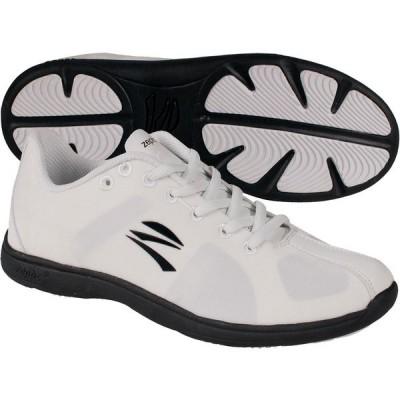 ゼフス スニーカー シューズ レディース zephz Women's Stratoscheer Cheerleading Shoes White/Black