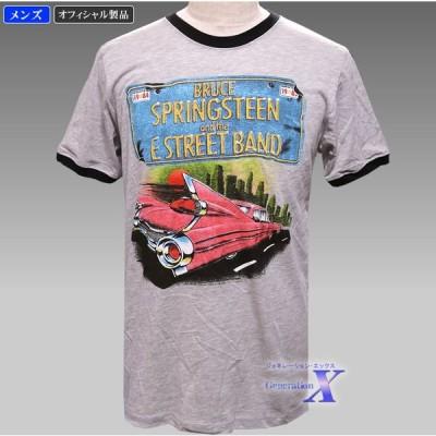 【ブルース・スプリングスティーン・オフィシャルTシャツ】メンズ・ナンバープレート