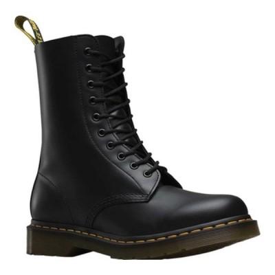 ドクターマーチン スニーカー シューズ レディース 1490 10-Eyelet Boot Black Smooth Leather