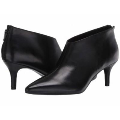 Aerosoles エアロソールズ レディース 女性用 シューズ 靴 ブーツ アンクル ショートブーツ Roxbury Black Leather【送料無料】