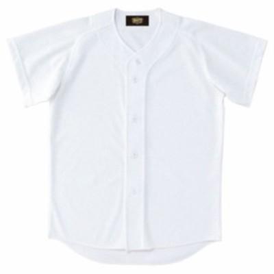 少年用ユニフォームシャツ【ZETT】ゼットヤキュウソフトユニフォーム シャツJR(BU2071-1100)