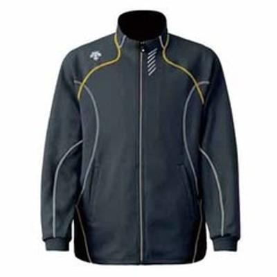 デサント トレーニングウェア(男女兼用)(チャコール×イエロー・サイズ:O) Training Jacket(トレーニングジャケット) DTM-1910B DS-DTM1910B-CHY-O 【返品種別A】
