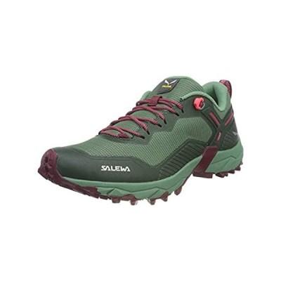 【イチオシ厳選】Salewa Ultra Train 3 Trail Running Shoe - Women's Duck Green/Rhododendon, 8