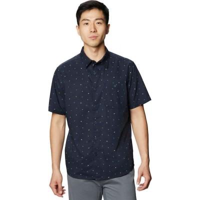 マウンテンハードウェア Mountain Hardwear メンズ 半袖シャツ トップス Big Cottonwood Short - Sleeve Shirt Dark Zinc