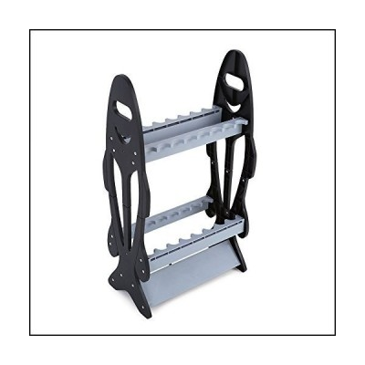 Caredy Fishing Rod Holder, 16 Rods Perfect Fishing Rod Holder Stand Organizer Rack for Lightweight Types of Fishing Rods[並行輸入品]