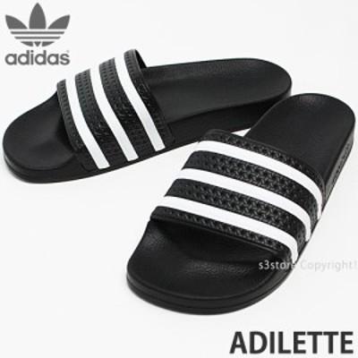 アディダス オリジナルス ADILETTE カラー:ブラック/ホワイト/ブラック