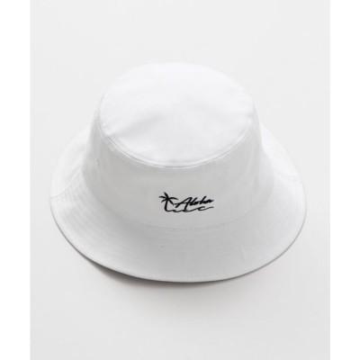 【Kahiko】ナルアロハバケットハット ホワイト