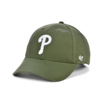 47ブランド レディース 帽子 アクセサリー Philadelphia Phillies Olive MVP Cap