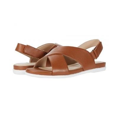 Cole Haan コールハーン レディース 女性用 シューズ 靴 サンダル Grand Ambition Flat Sandal - CH British Tan Tumble Leather