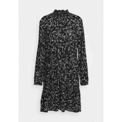 カフェ ワンピース レディース トップス SAMA AMBER DRESS - Day dress - black/chalk