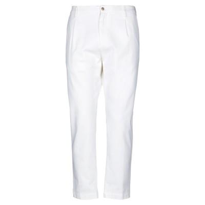 OFFICINA 36 パンツ ホワイト 52 コットン 98% / ポリウレタン 2% パンツ