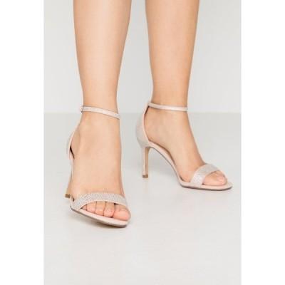 ヘッドオーバーヒールズ サンダル レディース シューズ MADDI - High heeled sandals - nude/metallic