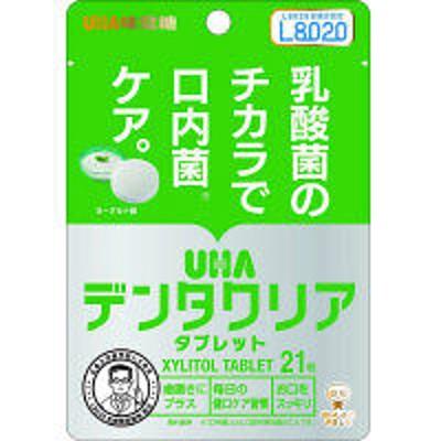 UHA味覚糖デンタクリアタブレット ヨーグルト スタンドパウチ 21粒 UHA味覚糖
