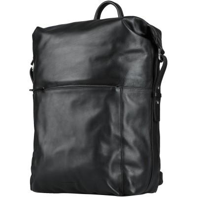 ROYAL REPUBLIQ バックパック&ヒップバッグ ブラック 革 100% バックパック&ヒップバッグ