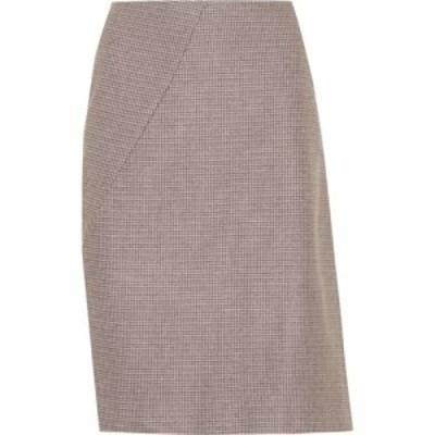 プリーン バイ ソーントン ブルガッジ Preen by Thornton Bregazzi レディース スカート Sabine wool-blend skirt Taupe