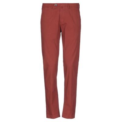 B SETTECENTO パンツ 赤茶色 31 コットン 96% / ポリウレタン 4% パンツ