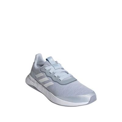 アディダス レディース スニーカー シューズ QT Racer Sport Sneaker HALBLU/FTW