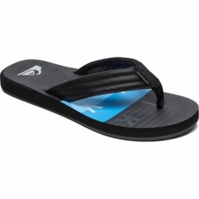 クイックシルバー Quiksilver メンズ サンダル シューズ・靴 Carver Print Sandals Black/Black/Blue
