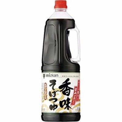 【新品】ミツカン 香味そばつゆ 1800ml