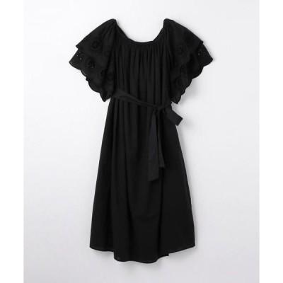 TOMORROWLAND / トゥモローランド MERLETTE コットンスカラップスリーブドレス