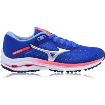 ミズノ Mizuno レディース ランニング・ウォーキング シューズ・靴 Wave Rider 24 Running Shoes Blue