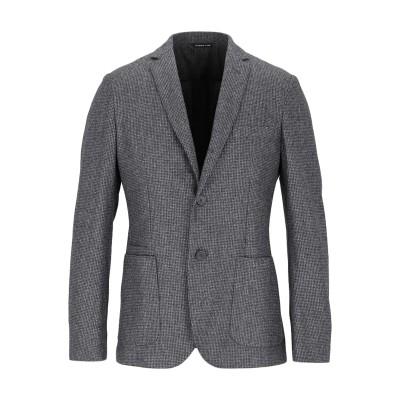 トネッロ TONELLO テーラードジャケット グレー 48 バージンウール 100% テーラードジャケット