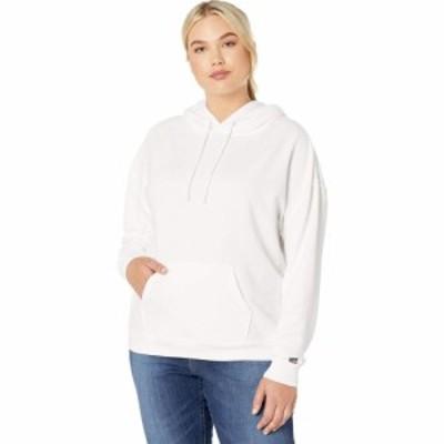 リーバイス Levis Plus レディース パーカー トップス Graphic Hoodie Sportswear Logo White