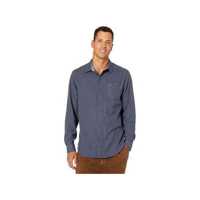 ティンバーランド Woodfort Mid-Weight Flannel Work Shirt メンズ シャツ トップス Navy Heather