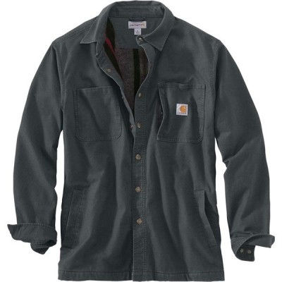 カーハート シャツ メンズ トップス Rugged Flex Rigby Shirt Jacket - Men's Shadow