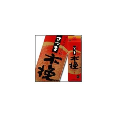 【送料無料】宮崎県・雲海酒造 25度本格芋焼酎 さつま木挽1.8Lパック×1ケース(全6本)